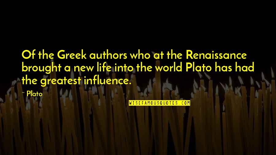 Mortal Instruments Jace And Simon Quotes By Plato: Of the Greek authors who at the Renaissance