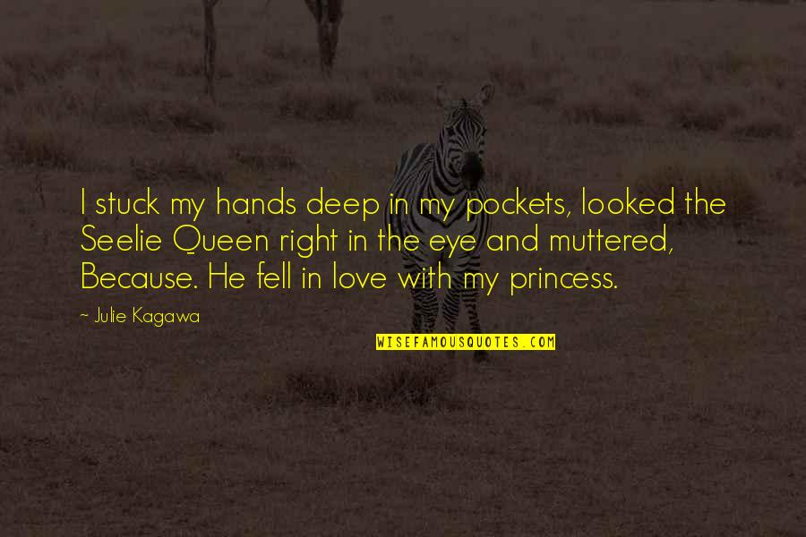 Motormouth Mabel Quotes By Julie Kagawa: I stuck my hands deep in my pockets,