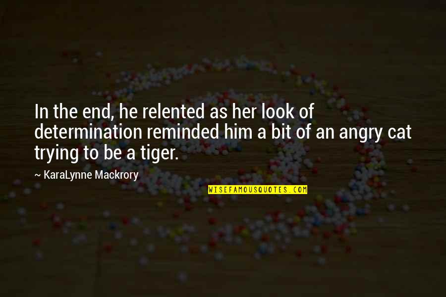 Mr Darcy's Pride Quotes By KaraLynne Mackrory: In the end, he relented as her look