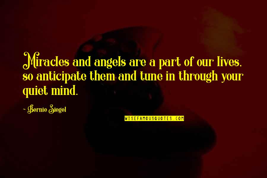 Mr. Raymond In To Kill A Mockingbird Quotes By Bernie Siegel: Miracles and angels are a part of our