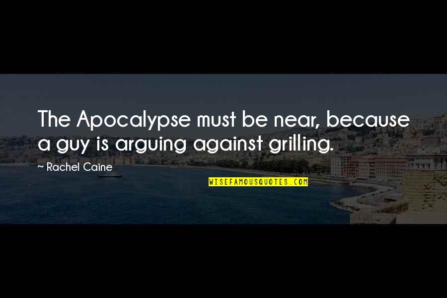 Mrs Danvers Quotes By Rachel Caine: The Apocalypse must be near, because a guy