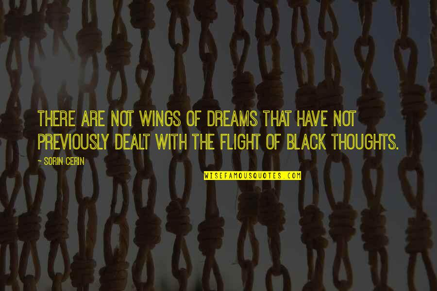Mrs Lippy Quotes By Sorin Cerin: There are not wings of dreams that have