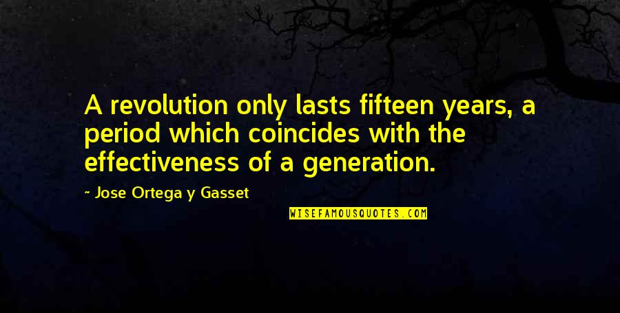Mssql Export Csv Quotes By Jose Ortega Y Gasset: A revolution only lasts fifteen years, a period