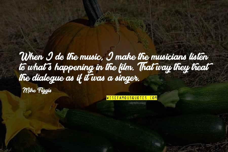 Music Musicians Quotes By Mike Figgis: When I do the music, I make the