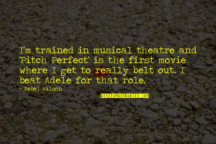 Musical Theatre Quotes: top 46 famous quotes about Musical ...