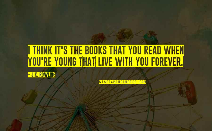 Mutual Understanding Love Relationship Quotes By J.K. Rowling: I think it's the books that you read