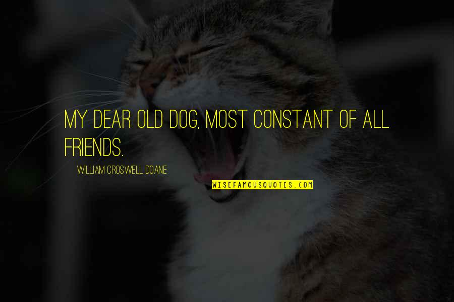 My Constant Quotes By William Croswell Doane: My dear old dog, most constant of all