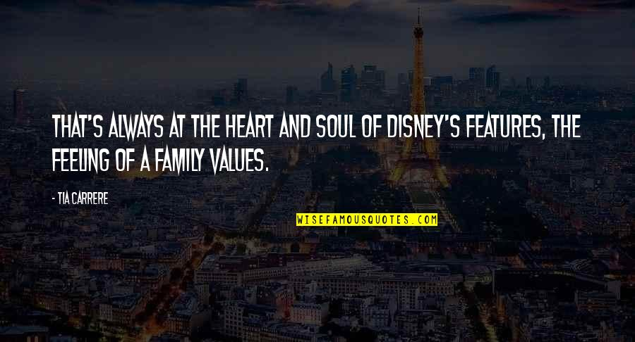 My Family Is My Heart Quotes By Tia Carrere: That's always at the heart and soul of