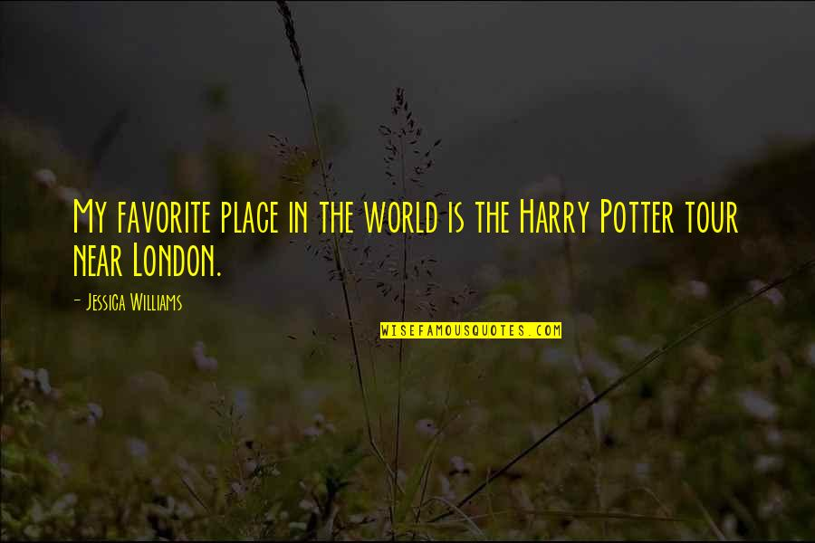 My Favorite Place Quotes By Jessica Williams: My favorite place in the world is the