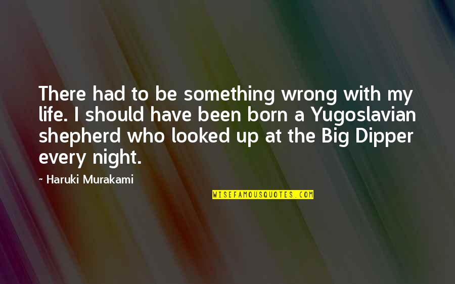 My Simple Life Quotes By Haruki Murakami: There had to be something wrong with my