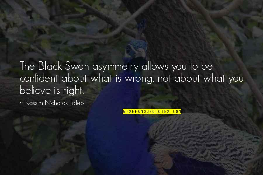 Nassim Taleb Best Quotes By Nassim Nicholas Taleb: The Black Swan asymmetry allows you to be
