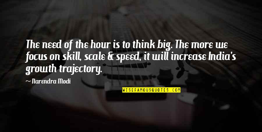 Need For Speed Quotes By Narendra Modi: The need of the hour is to think