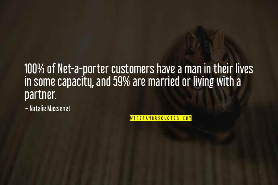 Net A Porter Quotes By Natalie Massenet: 100% of Net-a-porter customers have a man in