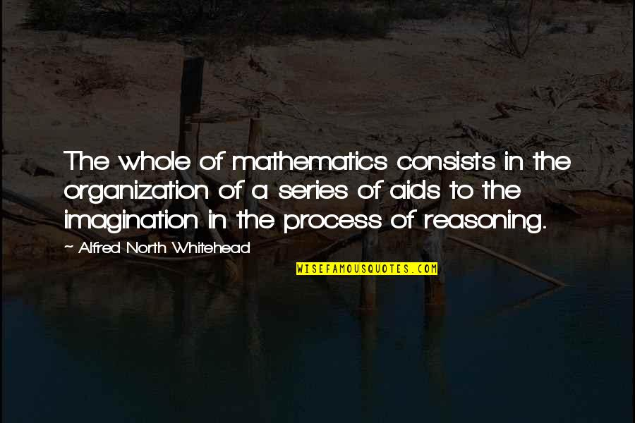 Never Having A Boyfriend Quotes By Alfred North Whitehead: The whole of mathematics consists in the organization