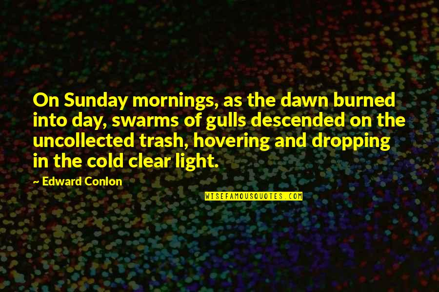 New Dawn Quotes By Edward Conlon: On Sunday mornings, as the dawn burned into