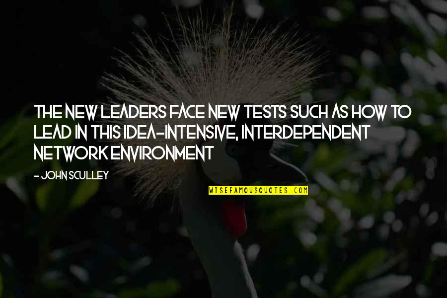 New Environment Quotes By John Sculley: The new leaders face new tests such as