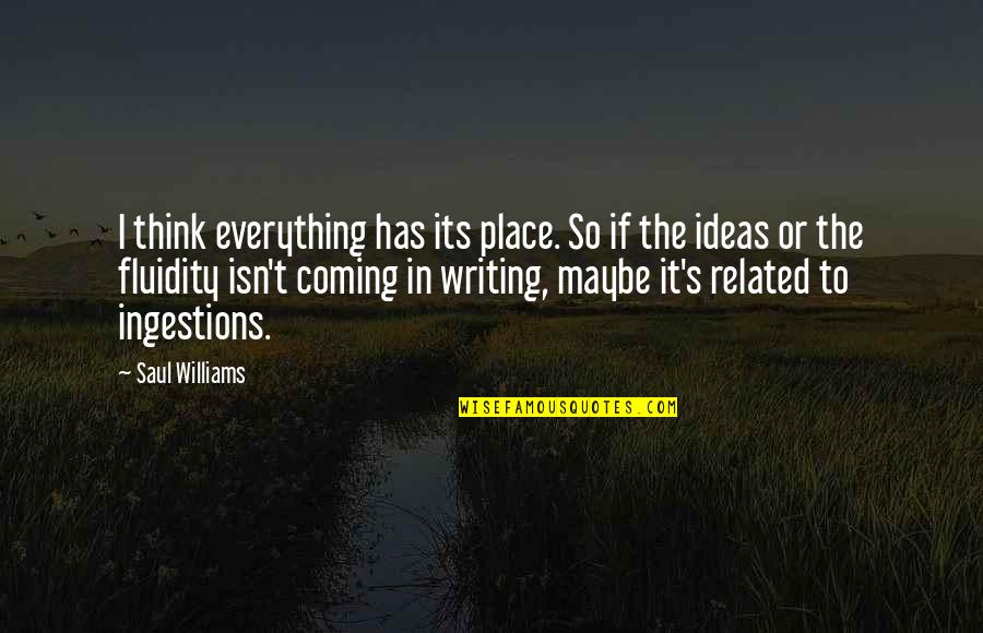 New York Times Historical Stock Quotes By Saul Williams: I think everything has its place. So if
