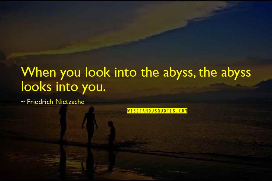 Nietzsche Abyss Quotes Top 24 Famous Quotes About Nietzsche Abyss