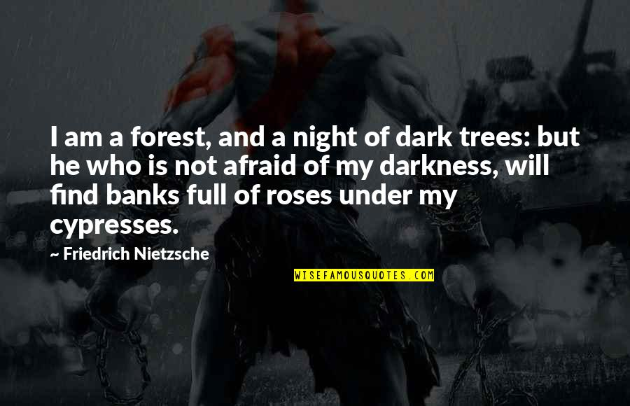 Night Darkness Quotes By Friedrich Nietzsche: I am a forest, and a night of