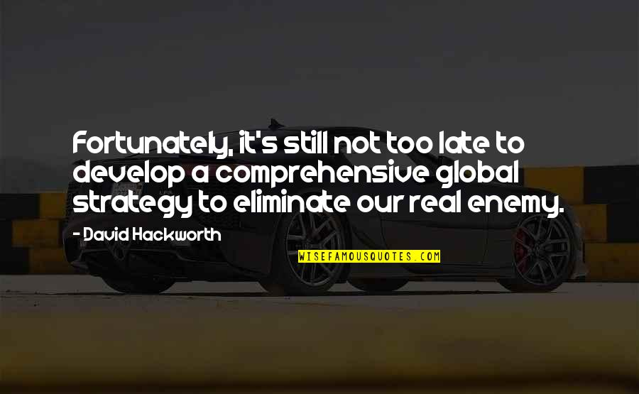 Nightand Quotes By David Hackworth: Fortunately, it's still not too late to develop