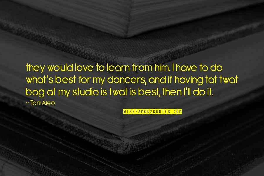 Nikah Wishes Quotes By Toni Aleo: they would love to learn from him. I