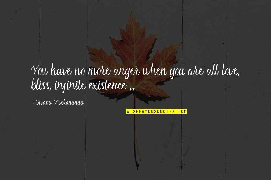 No More Love You Quotes By Swami Vivekananda: You have no more anger when you are