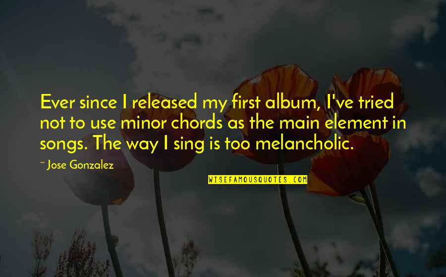 No Way Jose Quotes By Jose Gonzalez: Ever since I released my first album, I've