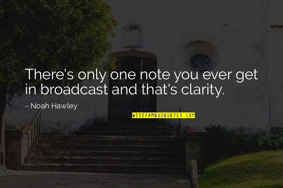 Noah's Quotes By Noah Hawley: There's only one note you ever get in