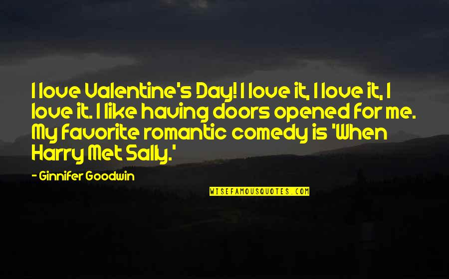 Non Love Valentines Day Quotes By Ginnifer Goodwin: I love Valentine's Day! I love it, I