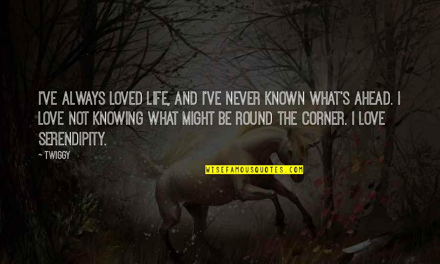 Not Knowing What Love Is Quotes By Twiggy: I've always loved life, and I've never known