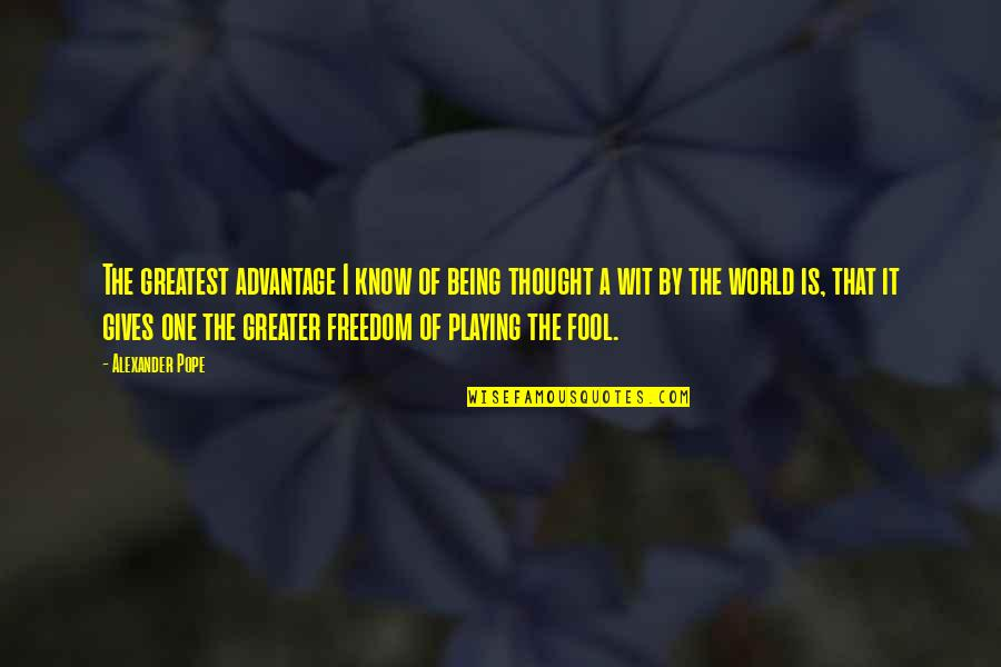 Not Playing The Fool Quotes Top 14 Famous Quotes About Not Playing