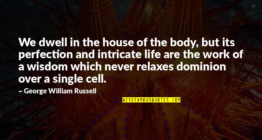 Not The Best Body Quotes By George William Russell: We dwell in the house of the body,