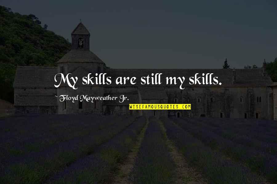 Nwo Theme Song With Quotes By Floyd Mayweather Jr.: My skills are still my skills.