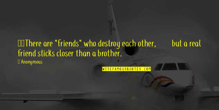 "Online Retailing Quotes By Anonymous: 24There are ""friends"" who destroy each other, but"
