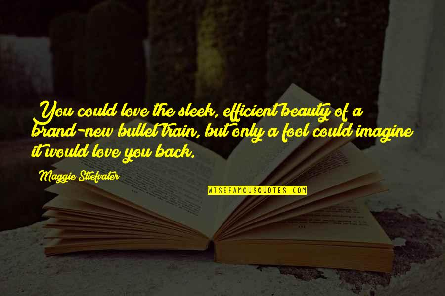 Only A Fool Quotes By Maggie Stiefvater: You could love the sleek, efficient beauty of