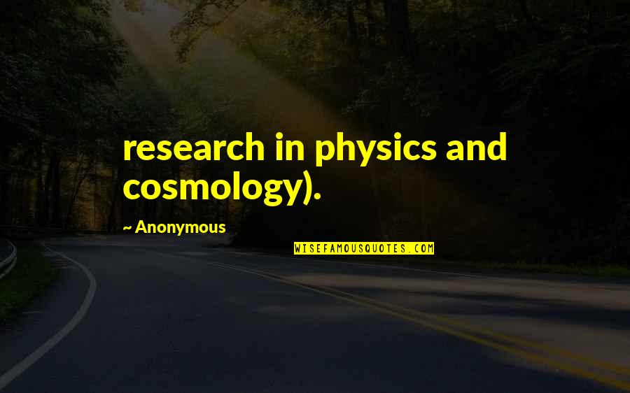 Oppression And Revolution Quotes By Anonymous: research in physics and cosmology).