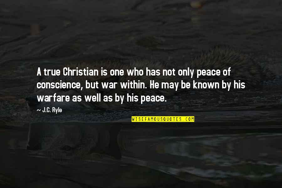 Our Sweet Memory Quotes By J.C. Ryle: A true Christian is one who has not
