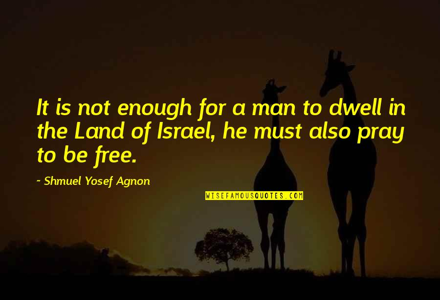Outlook 2013 Search Quotes By Shmuel Yosef Agnon: It is not enough for a man to