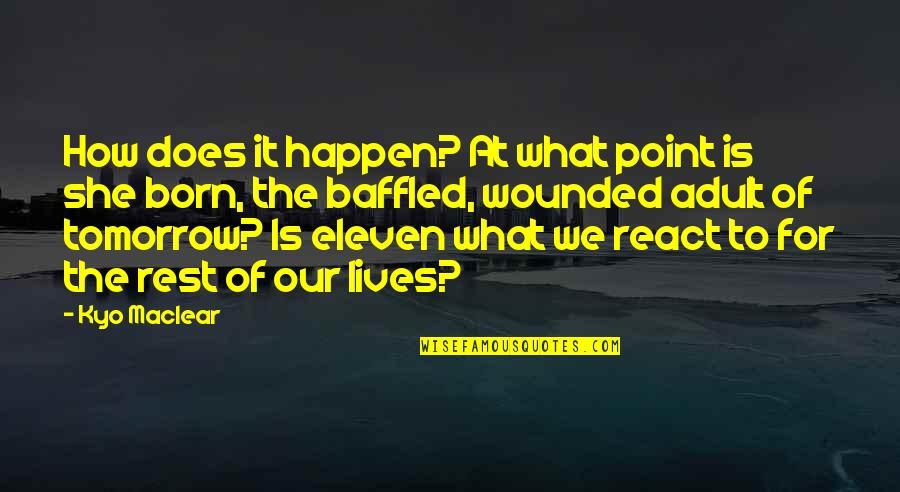 Over Your Past Quotes By Kyo Maclear: How does it happen? At what point is