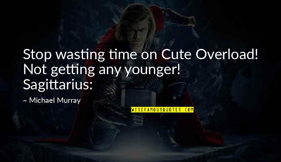 Overload Quotes By Michael Murray: Stop wasting time on Cute Overload! Not getting