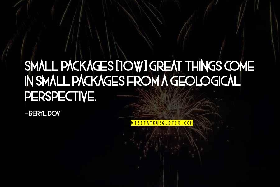 Packages Quotes By Beryl Dov: Small Packages [10w] Great things come in small