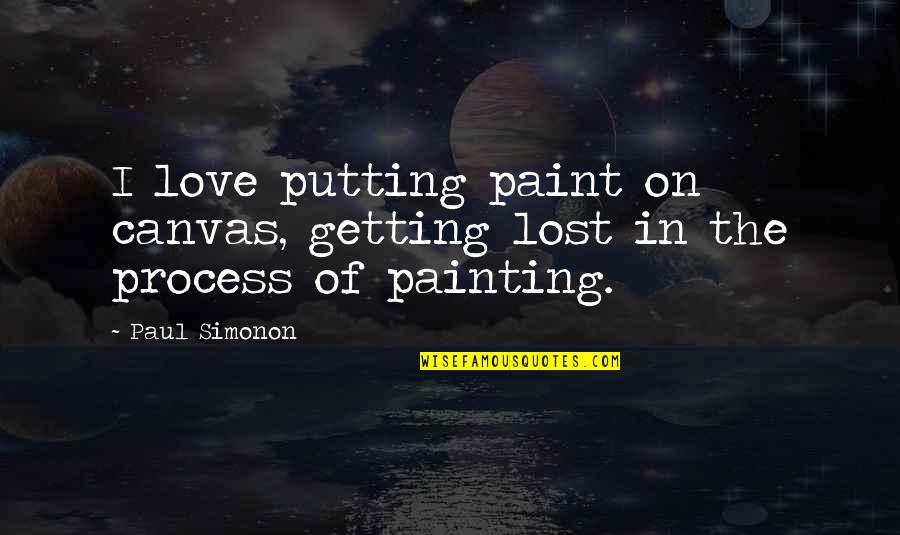 Painting A Canvas Quotes Top 29 Famous About
