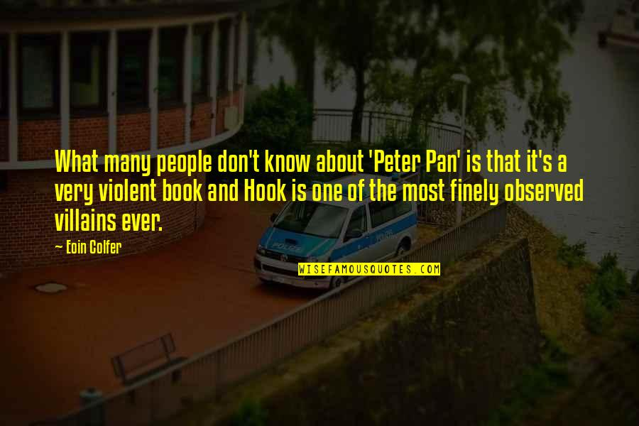 Pan Quotes By Eoin Colfer: What many people don't know about 'Peter Pan'