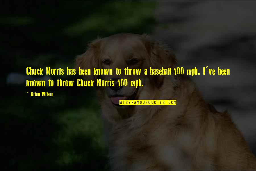 Party Enjoyed Quotes By Brian Wilson: Chuck Norris has been known to throw a