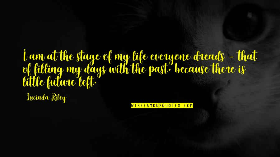 Past & Future Life Quotes By Lucinda Riley: I am at the stage of my life