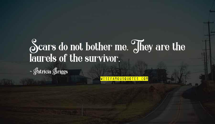 Patricia Briggs Quotes By Patricia Briggs: Scars do not bother me. They are the