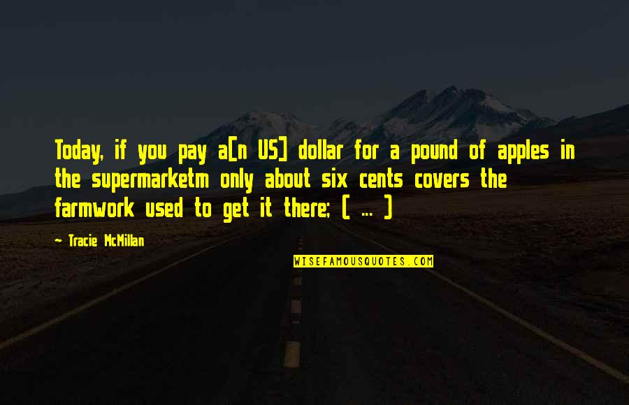 Pay For It Quotes By Tracie McMillan: Today, if you pay a[n US] dollar for