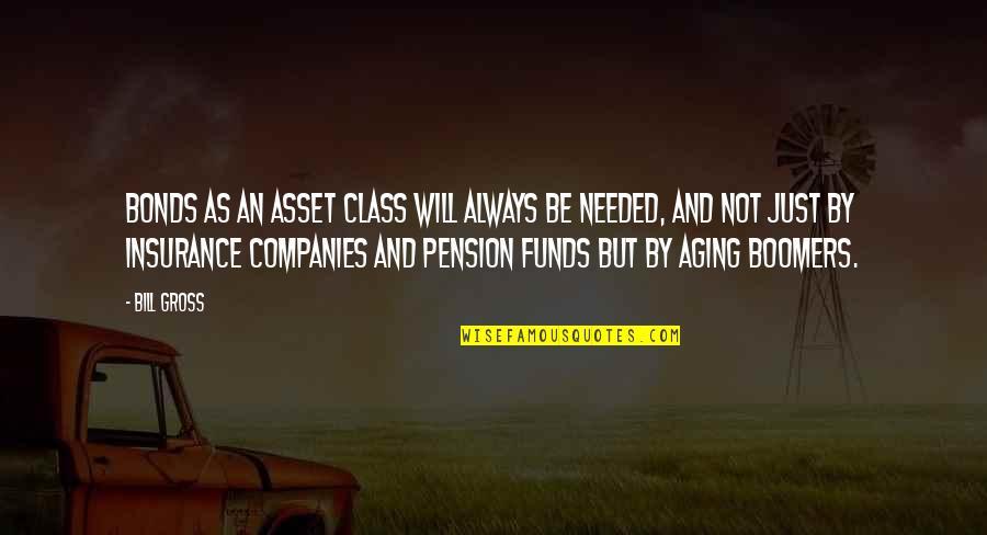 Pension Quotes By Bill Gross: Bonds as an asset class will always be