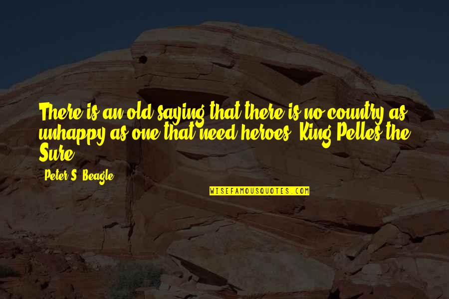 Peter S Beagle Quotes By Peter S. Beagle: There is an old saying that there is