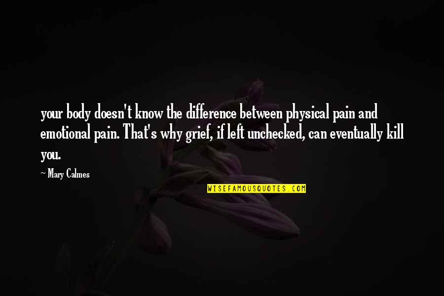 Physical Emotional Pain Quotes: top 8 famous quotes about ...